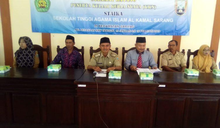 Kuliah Kerja Nyata ( KKN ) STAIKA ( Sekolah Tinggi Agama Islam Al – Kamal Sarang Kab. Rembang