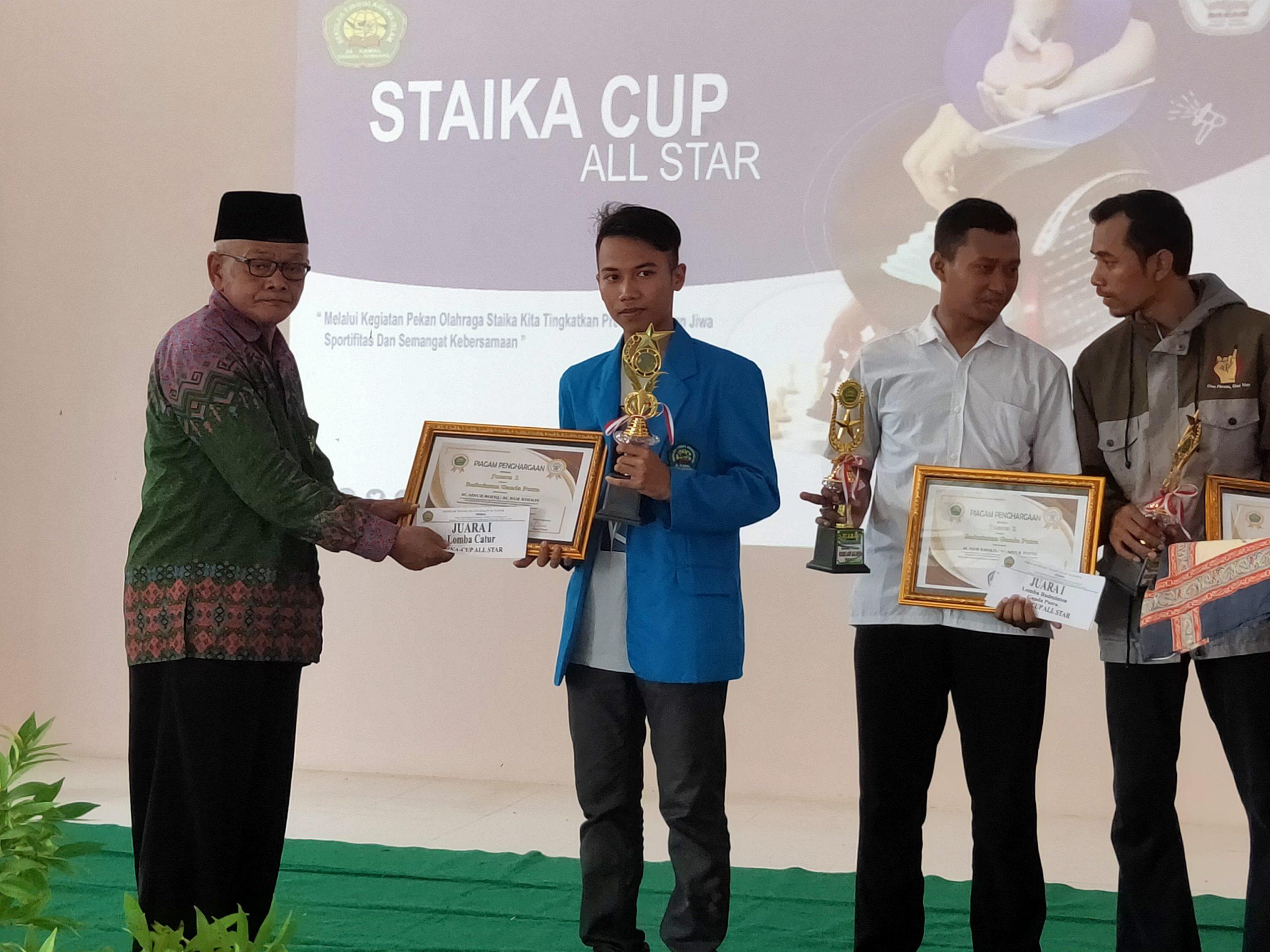 Juara I CATUR Putra (STAIKA CUP)