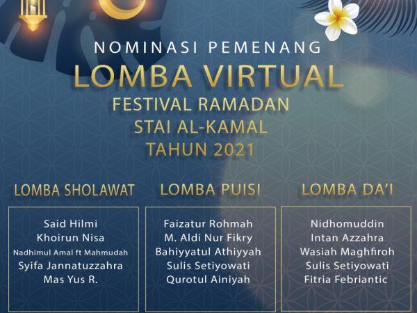 Nominasi Juara Festival Ramadhan 2021